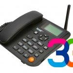 Стационарный сотовый GSM/3G телефон Termit FixPhone 3G
