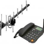 Стационарный сотовый GSM телефон Termit FixPhone v2 rev.4 (Yagi)
