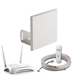 Комплект Аэро 3G с </br>модемом и Wi-Fi —  14 дБ