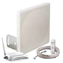 Комплект Аэро 3G с </br>модемом и Wi-Fi —  18 дБ