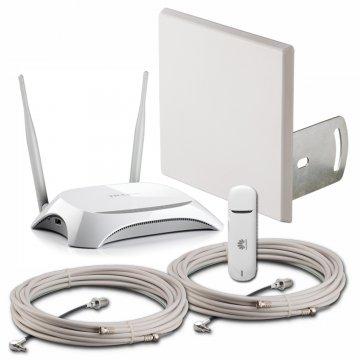 LTE усилитель Аэро 4G с модемом и Wi-Fi