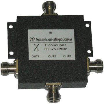 Делитель мощности PicoCoupler 800-2700 МГц 1/3