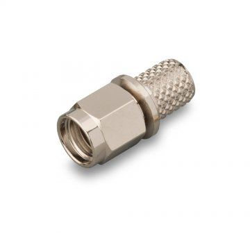 Разъем RP-SMA (male) реверсный обжим для кабеля RG-58