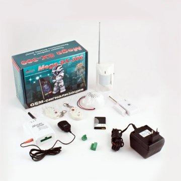 GSM сигнализация Mega SX-300 с комбинированным видом связи (провод и радиоканал)