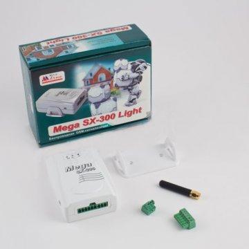 GSM сигнализация Mega SX-300 Light с комбинированным видом связи